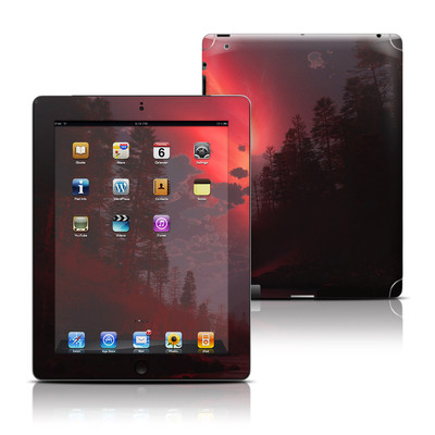 Apple iPad 3 Skin - Red Harbinger