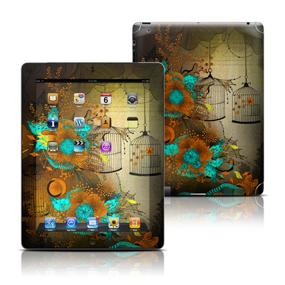 Apple iPad 3 Skin - Rusty Lace
