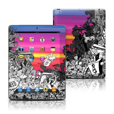 Apple iPad 3 Skin - Robo Fight