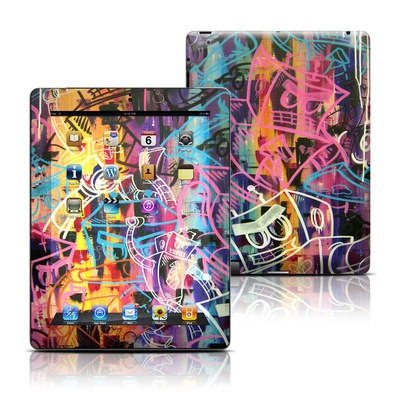 Apple iPad 3 Skin - Robot Roundup