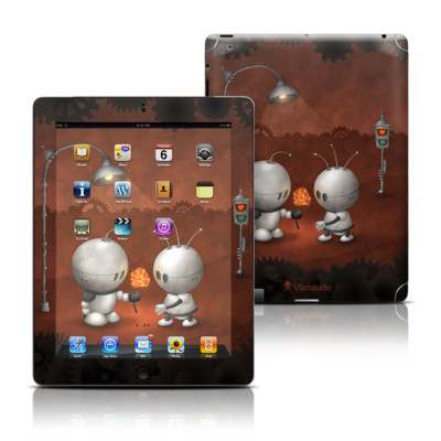Apple iPad 3 Skin - Robots In Love