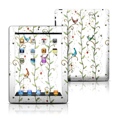 Apple iPad 3 Skin - Royal Birds