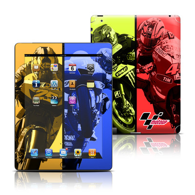 Apple iPad 3 Skin - Race Panels
