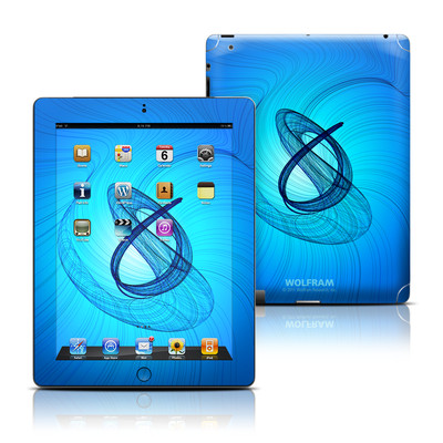 Apple iPad 3 Skin - Rotating Swirls