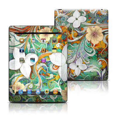 Apple iPad 3 Skin - Sangria Flora