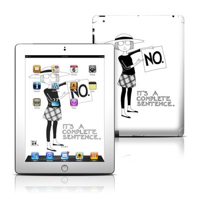 Apple iPad 3 Skin - Sentence
