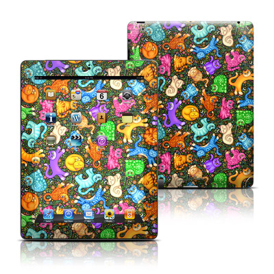 Apple iPad 3 Skin - Sew Catty