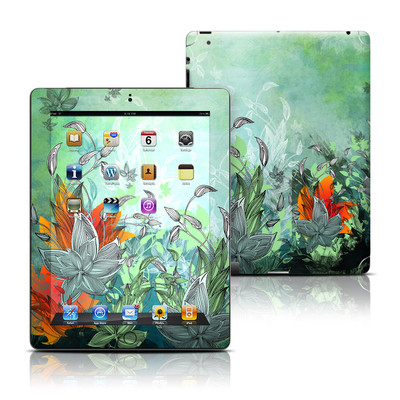 Apple iPad 3 Skin - Sea Flora