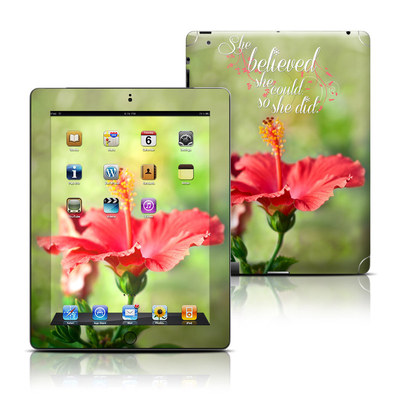 Apple iPad 3 Skin - She Believed