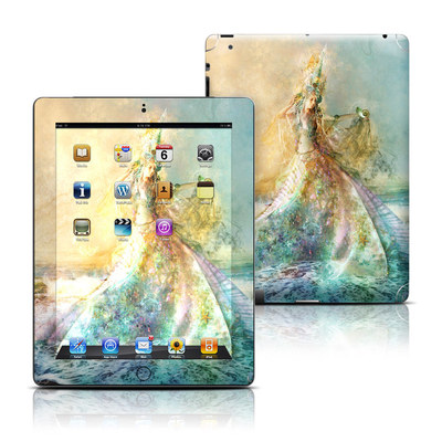 Apple iPad 3 Skin - The Shell Maiden