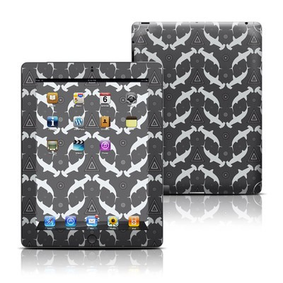 Apple iPad 3 Skin - Shiver of Sharks