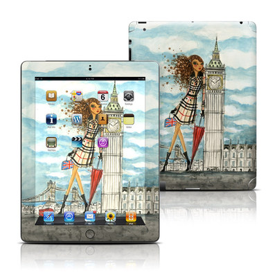 Apple iPad 3 Skin - The Sights London