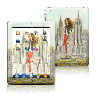 Apple iPad 3 Skin - The Sights New York