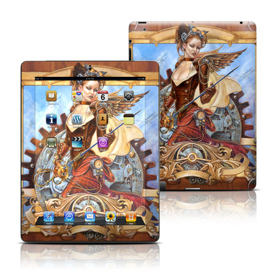 Apple iPad 3 Skin - Steam Jenny