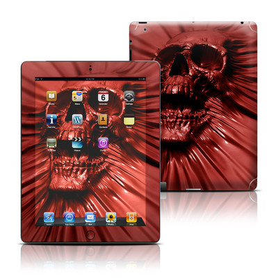 Apple iPad 3 Skin - Skull Blood