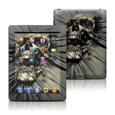 Apple iPad 3 Skin - Skull Wrap