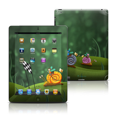 Apple iPad 3 Skin - Snail Race