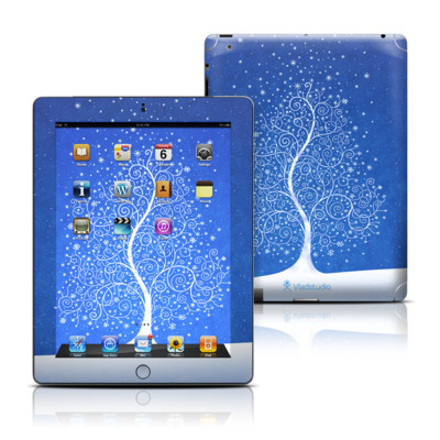 Apple iPad 3 Skin - Snowflakes Are Born
