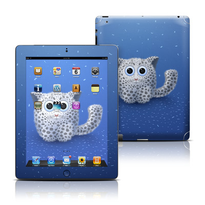Apple iPad 3 Skin - Snow Leopard