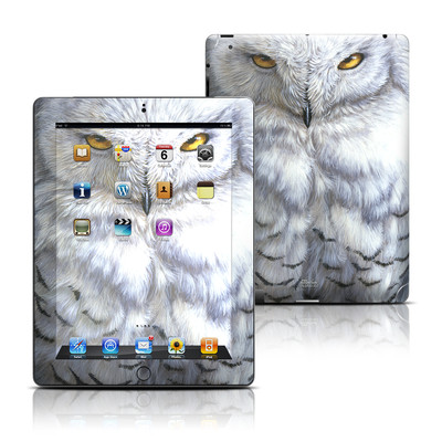 Apple iPad 3 Skin - Snowy Owl