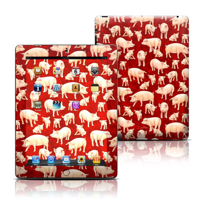 Apple iPad 3 Skin - Some Pig