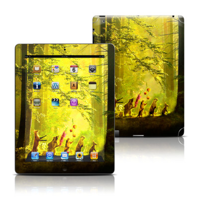 Apple iPad 3 Skin - Secret Parade