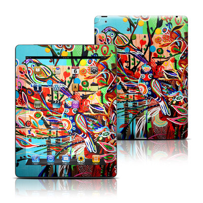 Apple iPad 3 Skin - Spring Birds