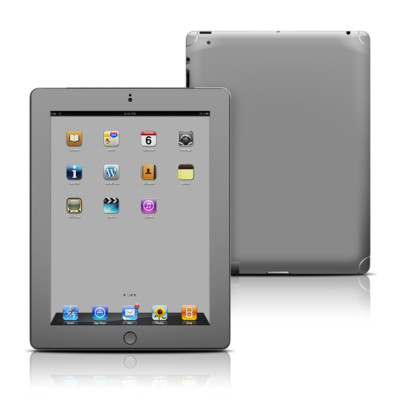 Apple iPad 3 Skin - Solid State Grey