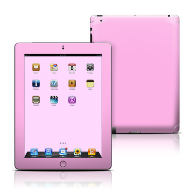 Apple iPad 3 Skin - Solid State Pink