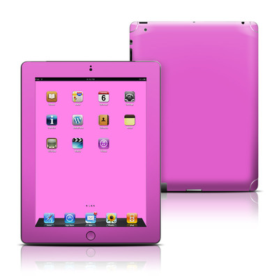 Apple iPad 3 Skin - Solid State Vibrant Pink