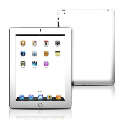 Apple iPad 3 Skin - Solid State White