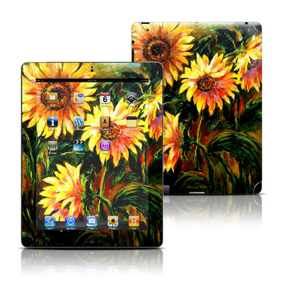 Apple iPad 3 Skin - Sunflower Sunshine
