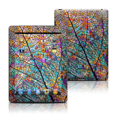 Apple iPad 3 Skin - Stained Aspen
