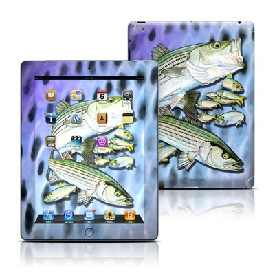 Apple iPad 3 Skin - Striped Bass