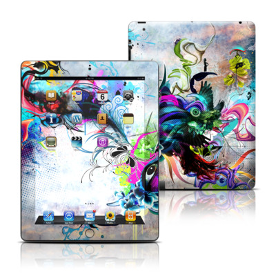 Apple iPad 3 Skin - Streaming Eye