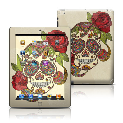 Apple iPad 3 Skin - Sugar Skull