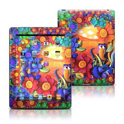 Apple iPad 3 Skin - Summerbird