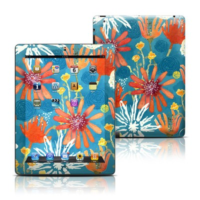 Apple iPad 3 Skin - Sunbaked Blooms