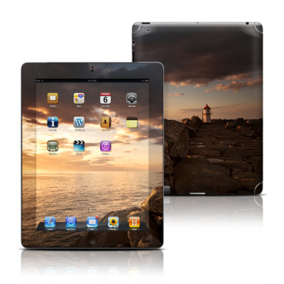 Apple iPad 3 Skin - Sunset Beacon