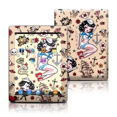 Apple iPad 3 Skin - Suzy Sailor