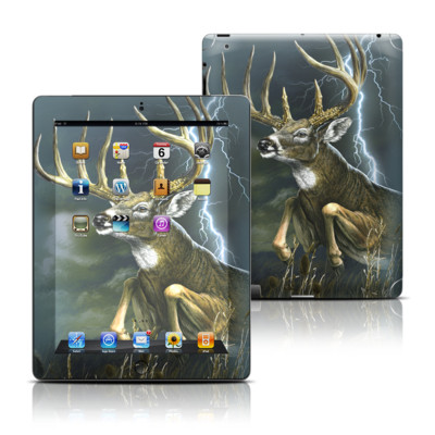 Apple iPad 3 Skin - Thunder Buck