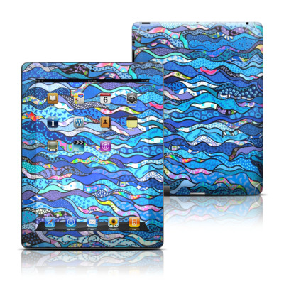 Apple iPad 3 Skin - The Blues