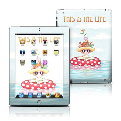 Apple iPad 3 Skin - This Is The Life