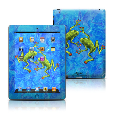 Apple iPad 3 Skin - Tiger Frogs
