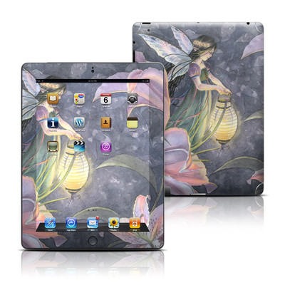 Apple iPad 3 Skin - Twilight Lilies