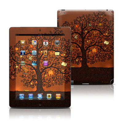 Apple iPad 3 Skin - Tree Of Books