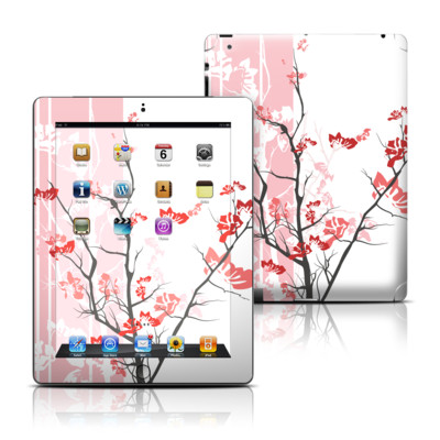 Apple iPad 3 Skin - Pink Tranquility