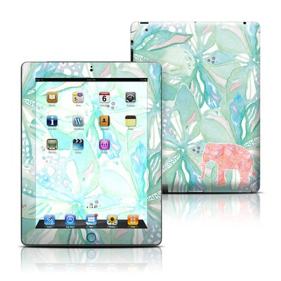 Apple iPad 3 Skin - Tropical Elephant