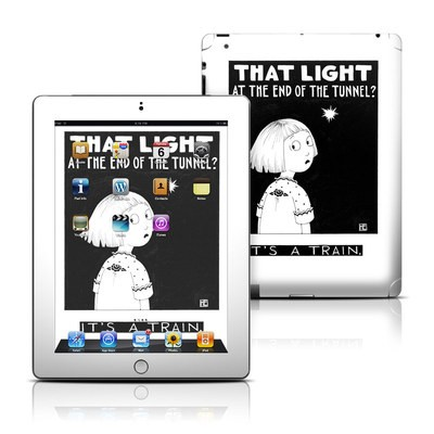 Apple iPad 3 Skin - Train Tunnel