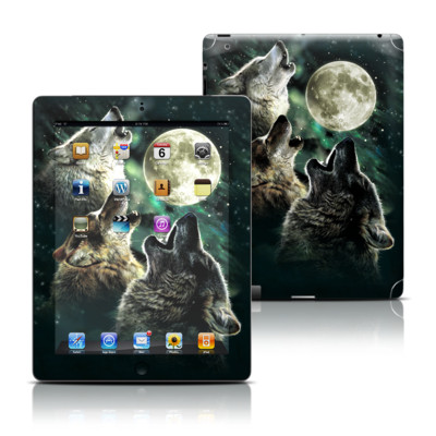 Apple iPad 3 Skin - Three Wolf Moon
